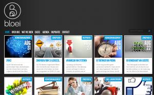 Screenshot van de website bloei.nl.