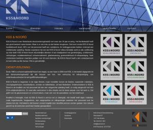 Screenshot homepage kssnoord.nl